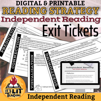 Strategy and Skill-based Independent Reading Exit Tickets