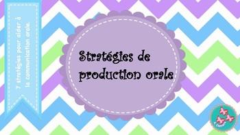 Stratégies de production orale