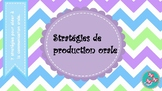 Stratégies de production orale