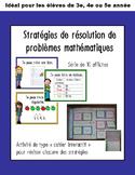 Stratégies de résolution de problèmes mathématiques