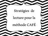 Stratégies pour méthode CAFÉ