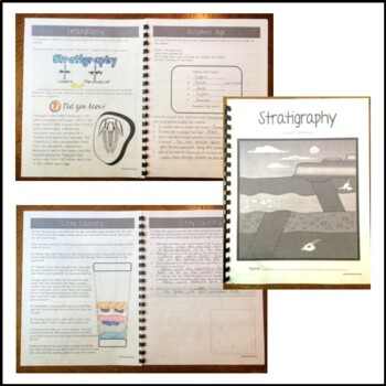 Stratigraphy Student Workbook- Distance Learning Packet