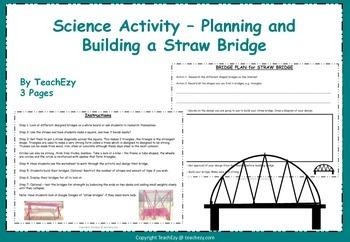 Straw Bridge Challenge - Science