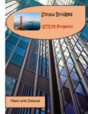 Straw Bridges--STEM Project-Distance Learning