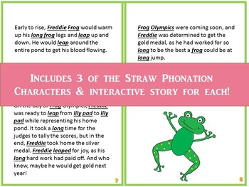 Straw Phonation Character Package
