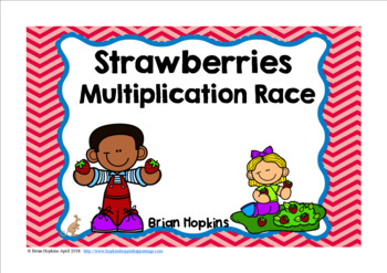 Strawberries Multiplication Race