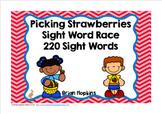 Strawberries Sight Word Race