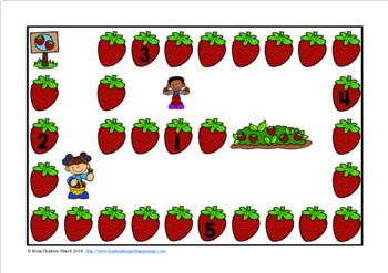 Strawberries Sight Word Race