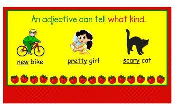 Strawberry Adjectives