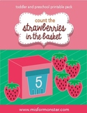 Strawberry Counting Printable