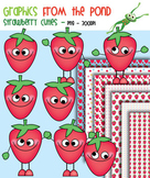 Strawberry Cuties - Clipart for Teachers and Classrooms