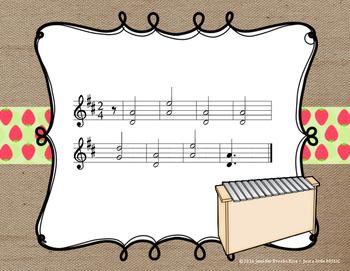 Strawberry Girl - A 4 Season Folk Song w/ Orff Instrument Accompaniment
