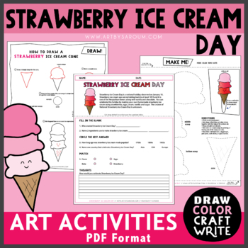 Strawberry Ice Cream Day (January 15)