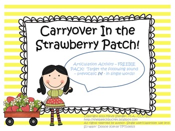 Strawberry Patch Articulation Pack - FREEBIE