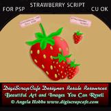 Strawberry Script for PSP