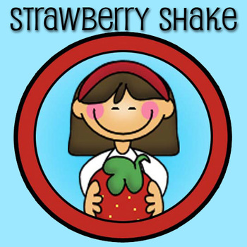 Strawberry Shake Store Button and Terms of Use  TOU Icon