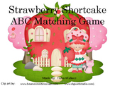 Strawberry Shortcake ABC matching Uppercase and Lowercase letters