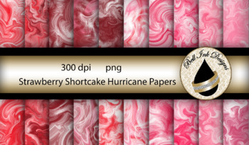 Strawberry Shortcake Hurricane Papers