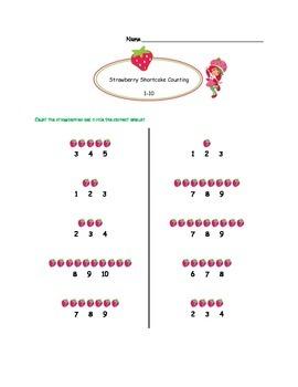 Strawberry Shortcake Mathematics