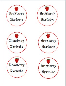 Strawberry Shortcake Parent Gifts