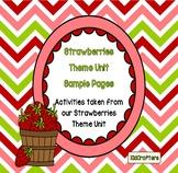 Strawberry Theme Unit Sample