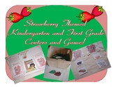 Strawberry Themed Math and Literacy Centers and Games
