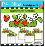 Strawberry Toppers (P4 Clips Trioriginals)