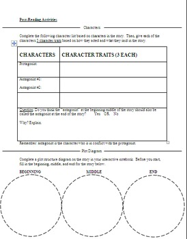 Reading Comprehension Activities for Stray by C. Rylant