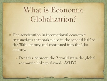 Strayer 3e - AP World Power Point on Globalization Topic