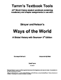 Strayer Ways of the World 3rd edition Packets for Ch. 1