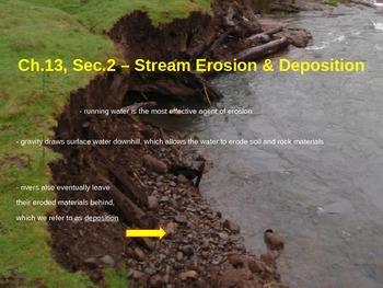 Stream Erosion and Deposition