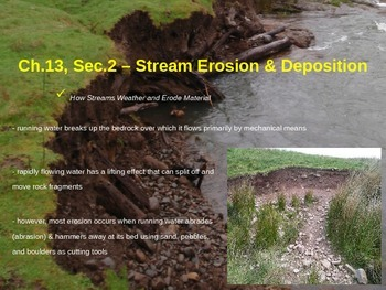 Stream Erosion and Deposition