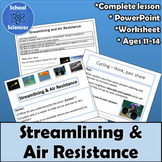 Streamlining and Air Resistance