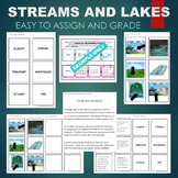 Streams and Lakes (Estuary, Tributary, Runoff, Watershed)