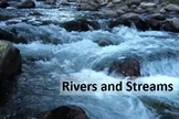 Streams and Rivers Notes Bundle