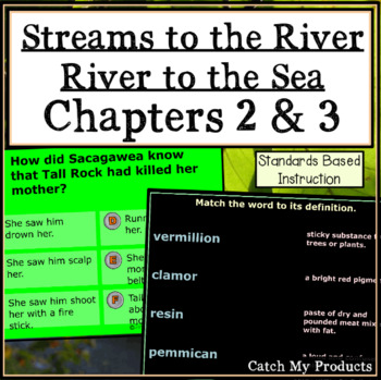 Streams to the River, River to the Sea Ch. 2 & 3 for Prometheam Board