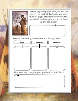 Streams to the River, River to the Sea by Scott O'Dell Novel Reading Study Guide