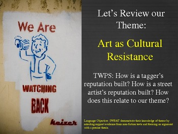 Street Art as Cultural Resistance: A Companion to Exit Through the Gift Shop