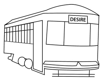 "Street Car Named Desire Clip Art (8.5"" x 11"")"