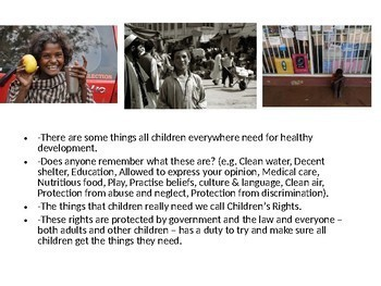 Street Children and Children's Rights and Responsibilities. Child poverty
