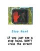 Street Crossing Safety Bingo