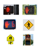 Street Crossing Safety Matching Game Cards
