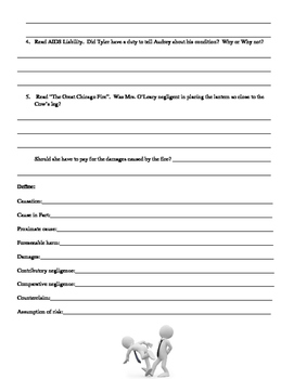 Street Law: Glencoe  Chapter 20 Homework  Negligence