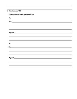 Street Law: Glencoe  Chapter 45 Homework Immigration Law