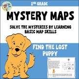 Map Skills 2nd grade, Distance Learning