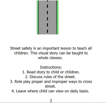 Street Safety Social Story