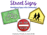 Street Signs (An Adapted Book for Identifying Signs in the
