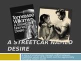 Streetcar Named Desire Intro -- PreReading Info