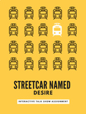 Streetcar Named Desire Talk Show Interactive Assignment & Rubric