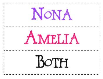 Strega Nona: Her Story - Compare and Contrast (Nona and Amelia)